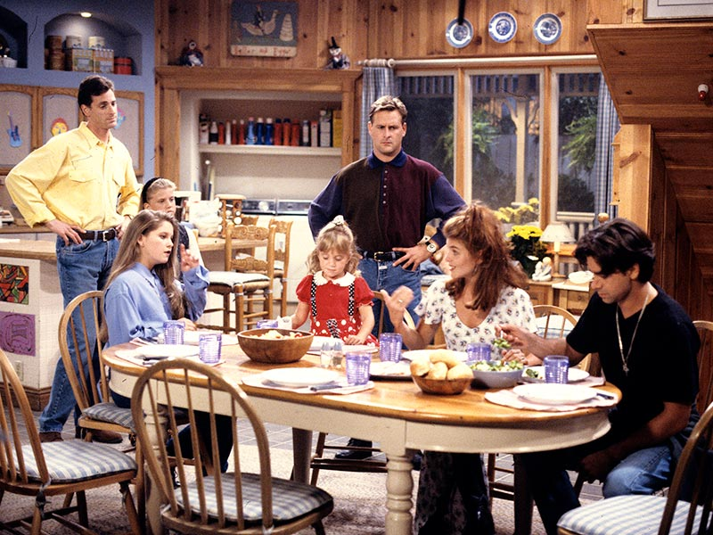 Tanner kitchen in Full House