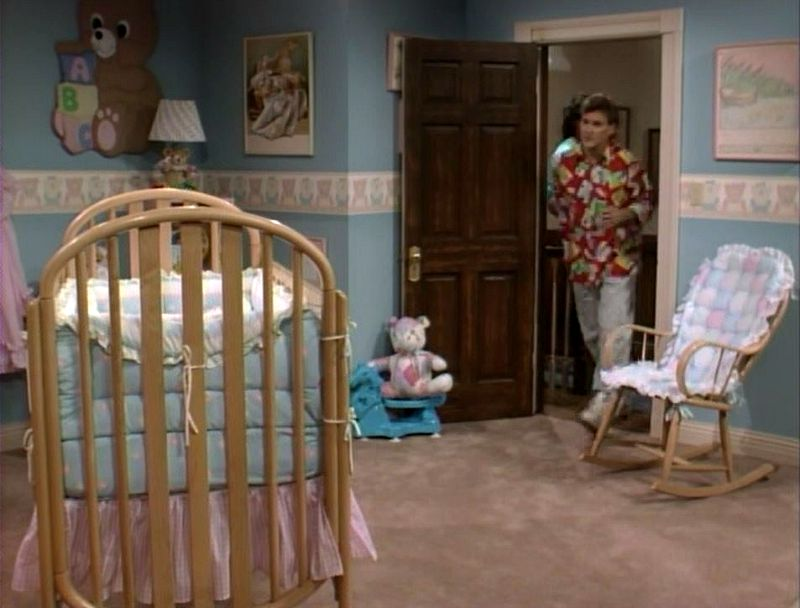 michelle's nursery in unaired pilot