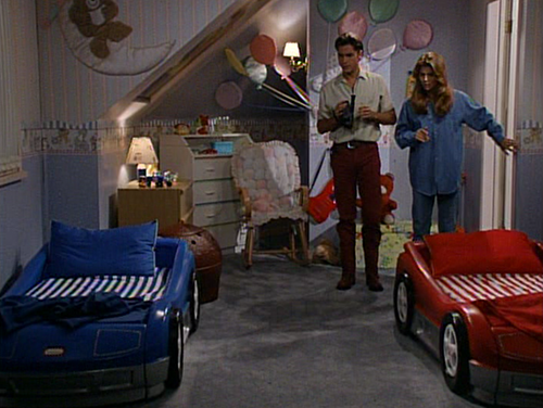twins racecar beds on full house