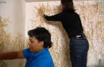 Remember When Hildi Glued Straw to the Walls?