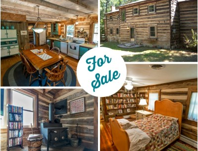A Civil War-Era Log Home For Sale in West Virginia