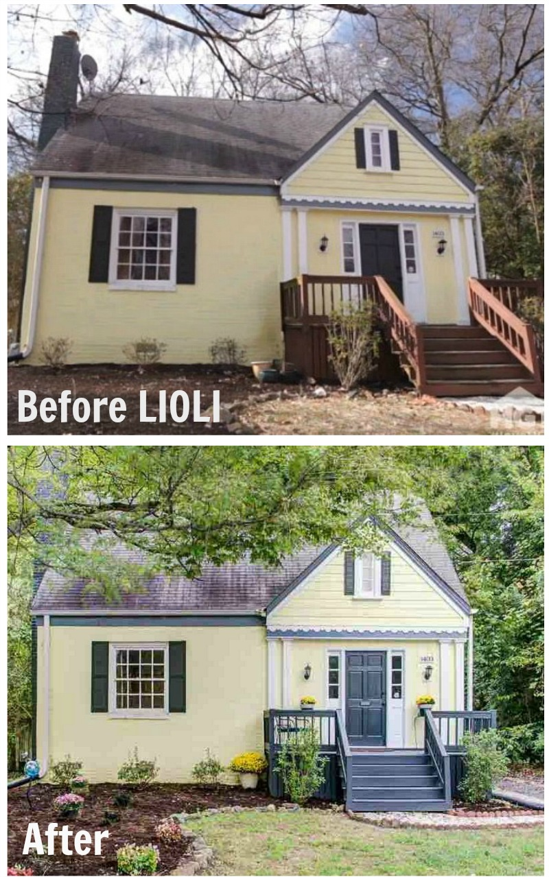 For sale a 1940s bungalow seen on love it or list it for Exterior bungalow renovations before and after