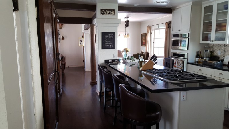 Bob's Spanish-style home in San Clemente CA