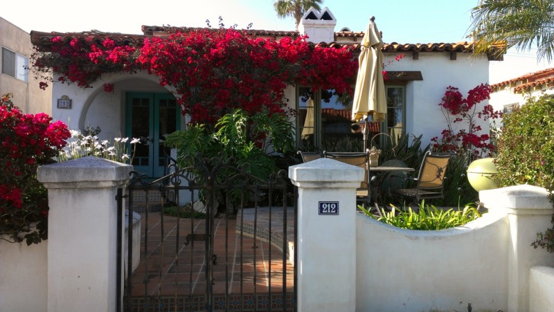 Spanish-style home after renovation