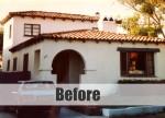 Spanish-style house BEFORE