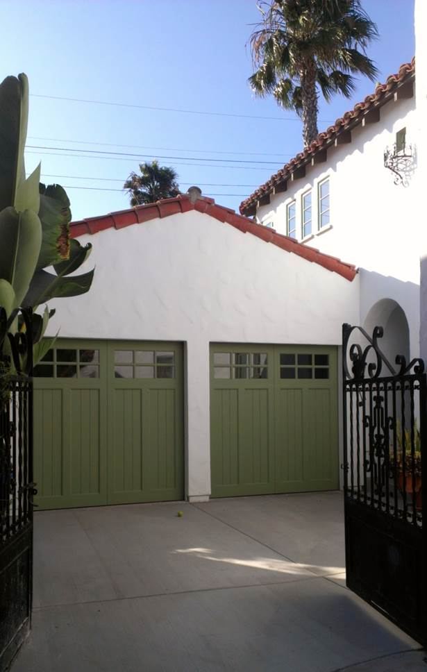 garage finished