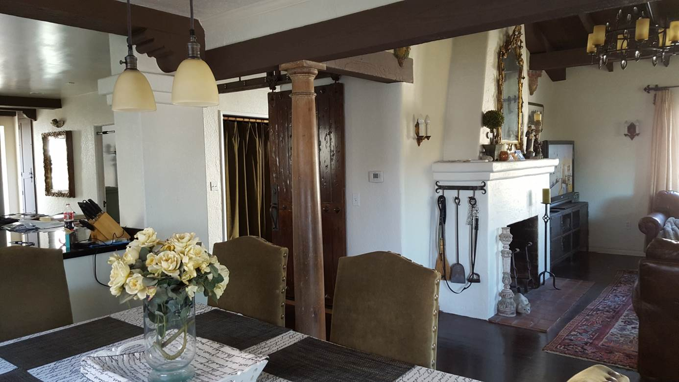 renovated Spanish-style home San Clemente CA