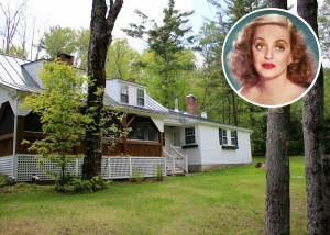 Bette Davis houses in Sugar Hill New Hampshire