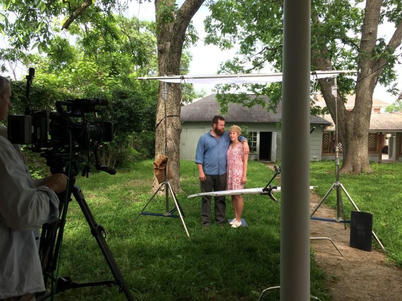 Erin and Ben Napier on HGTV Home Town