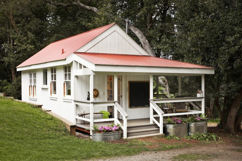 This cute little summer cottage in california will make for How to build a house in california