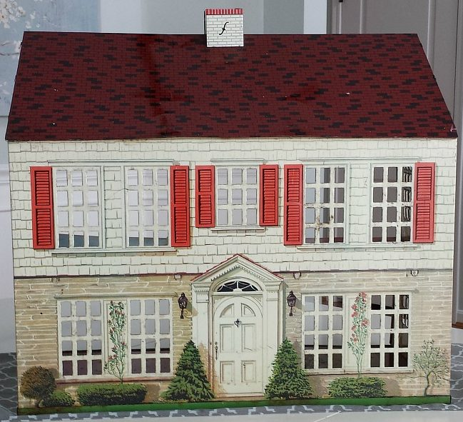 Playsteel Colonial Dollhouse Vintage 1948
