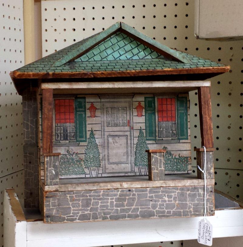 Rare Craftsman Bungalow Dollhouse