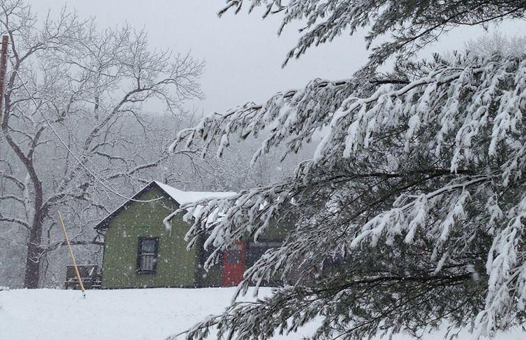 Gosherd Cottage on a goose farm in Missouri