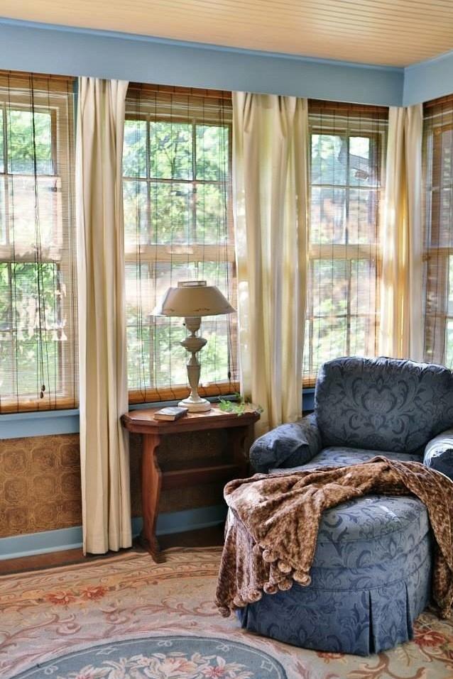 cottage reading corner