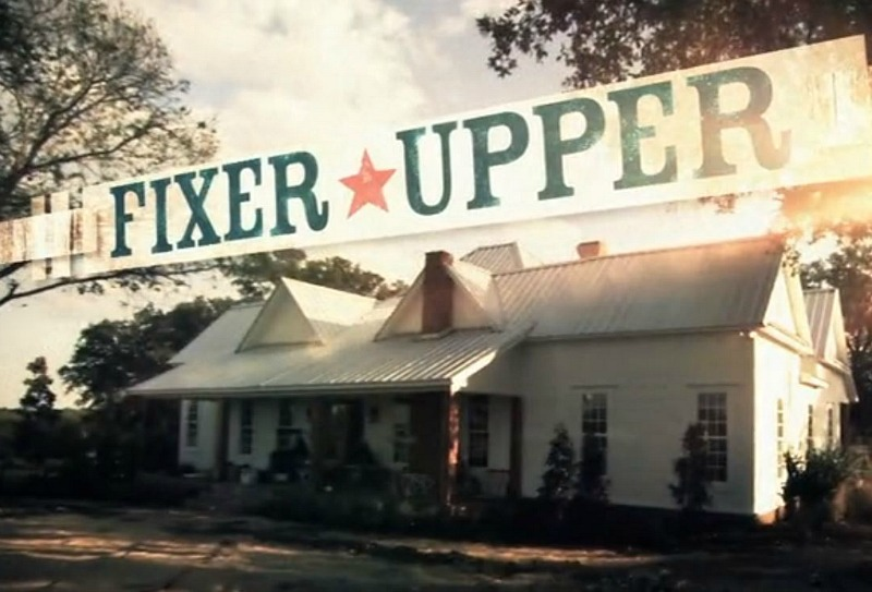 Fixer Upper farmhouse in opening credits