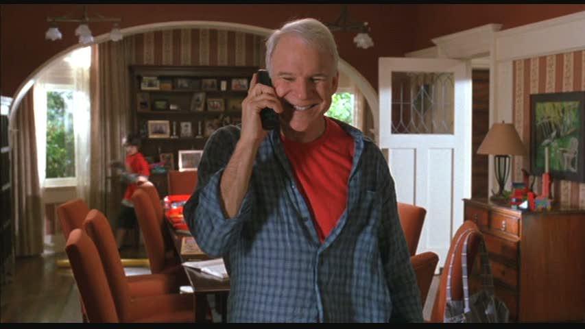 Steve Martin in Cheaper by the Dozen House