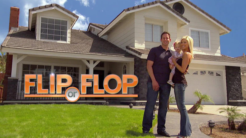 HGTV Flip or Flop with Tarek and Christina El Moussa