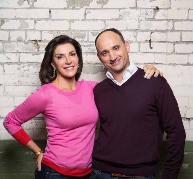 Hilary Farr and David Visentin Love It or List It