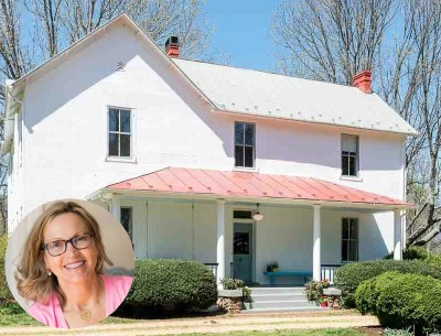 """My Old Country House"" Blogger's Fixed-Up Farmhouse For Sale"