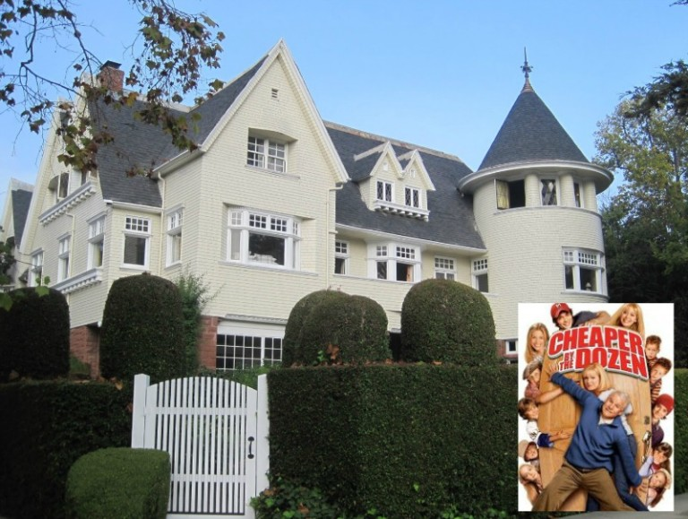 Steve Martin's Cheaper by the Dozen Movie House in Los Angeles Today