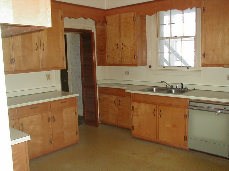 farmhouse kitchen before