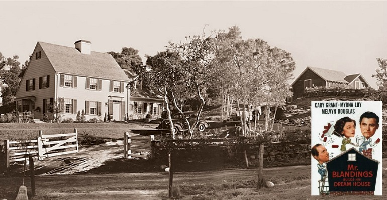 panoramic production still from mr. blandings builds his dream house
