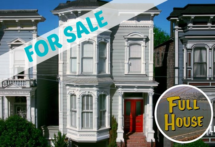 The full house victorian in san francisco today for Full house house for sale