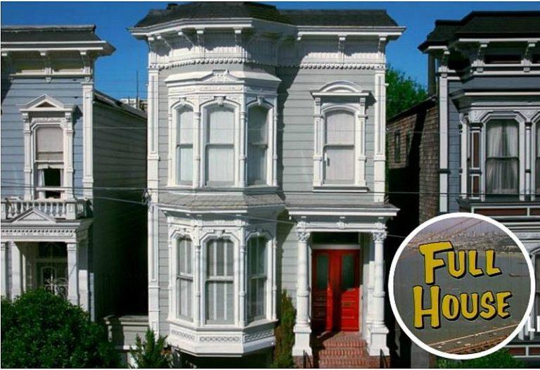 Full House Fuller House Victorian 1709 Broderick San Francisco