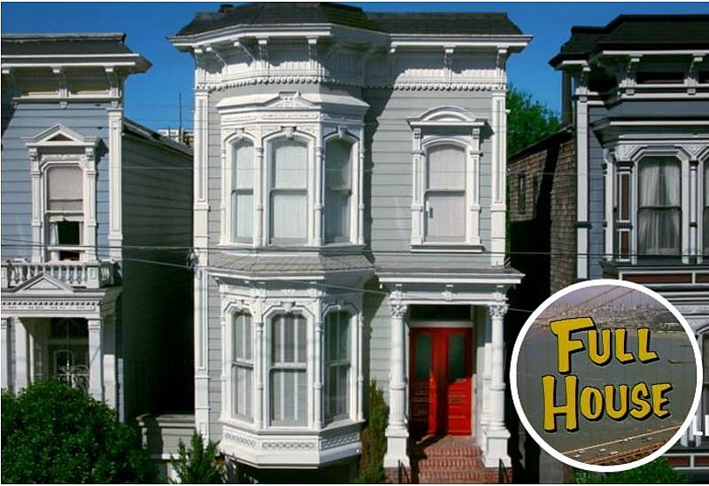 The Quot Full House Quot Victorian For Sale In San Francisco