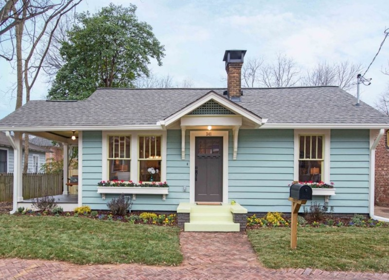Poet's Cottage AFTER via Carl Mattison Design-new exterior