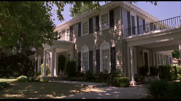 Exterior of the Guess Who movie house