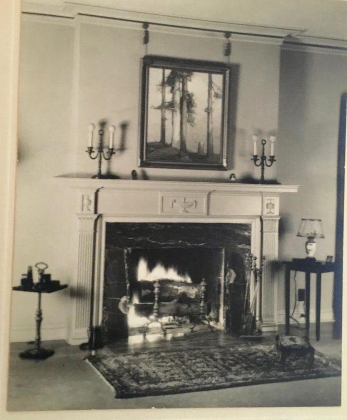 Vintage B&W Photo 500 North Almansor Street Alhambra