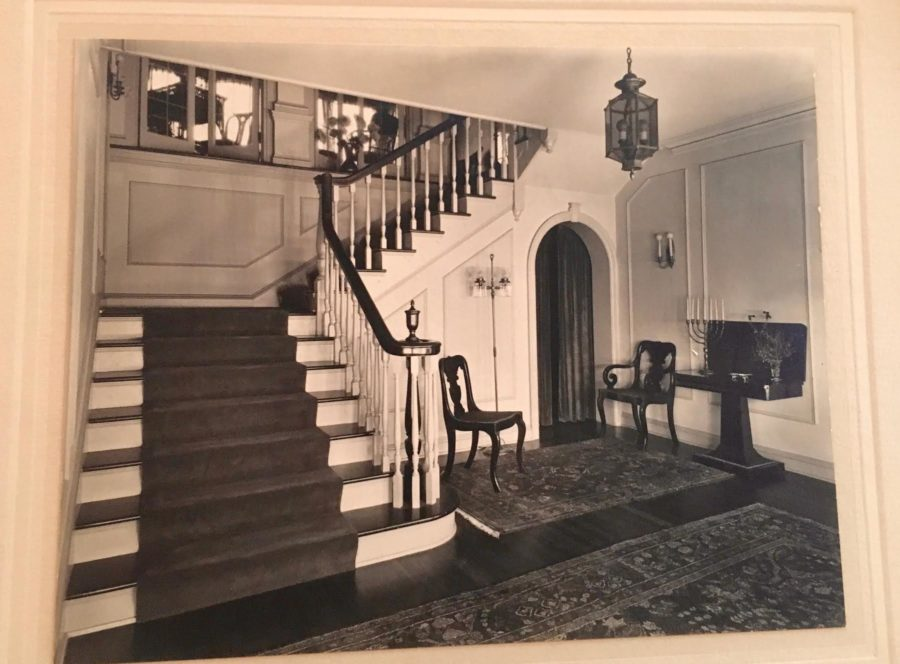Vintage B&W Photo 500 North Almansor Street Alhambra