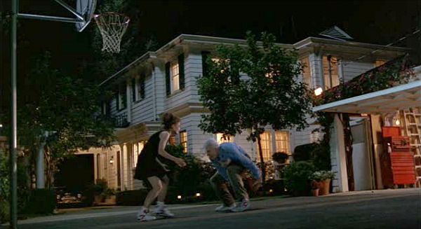father-of-the-bride-house-basketball hoop night