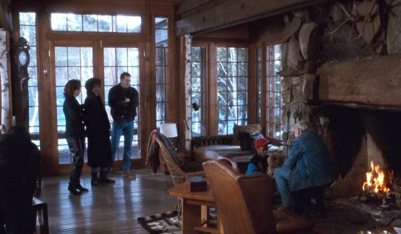 The Bodyguard Movie Frank Farmer Cabin