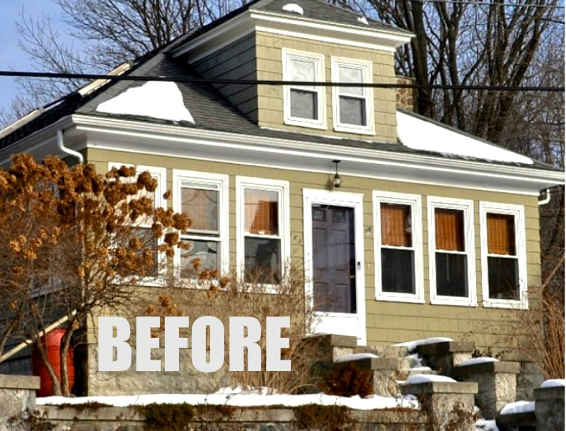 Bungalow remodel creating a second floor from unfinished attic space for Exterior bungalow renovations before and after