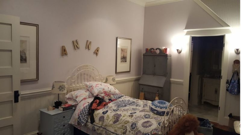 Anna\'s bedroom in the movie