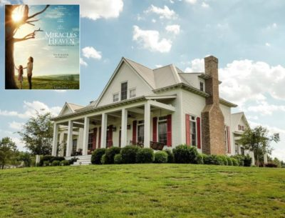 """Inside the Real Farmhouse from the Movie """"Miracles from Heaven"""""""