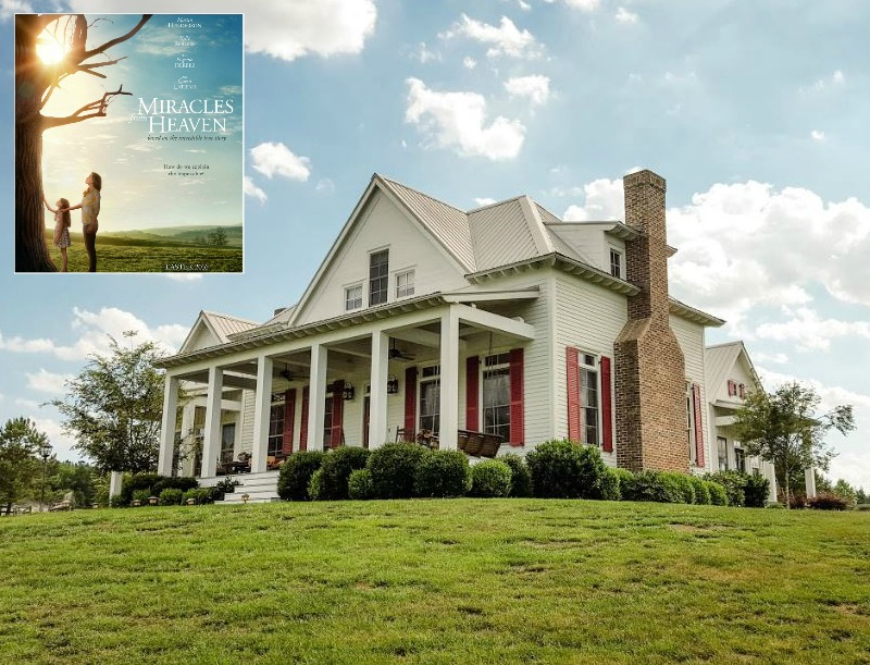 """Inside the Real Farmhouse from the Movie """"Miracles from ..."""