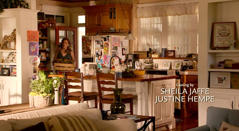 Screenshot of kitchen in Miracles from Heaven movie taken from opening credits