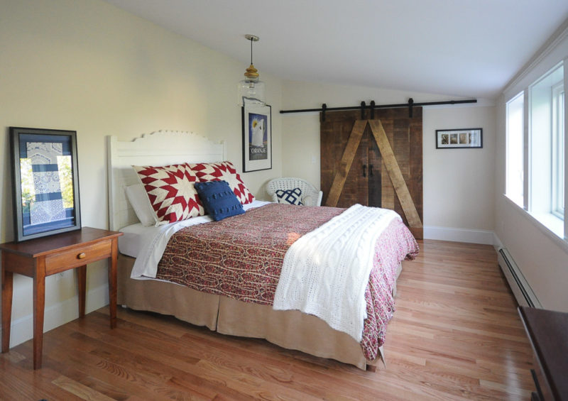 Laurel of SoPo Cottage at work in the Cherished Bungalow: