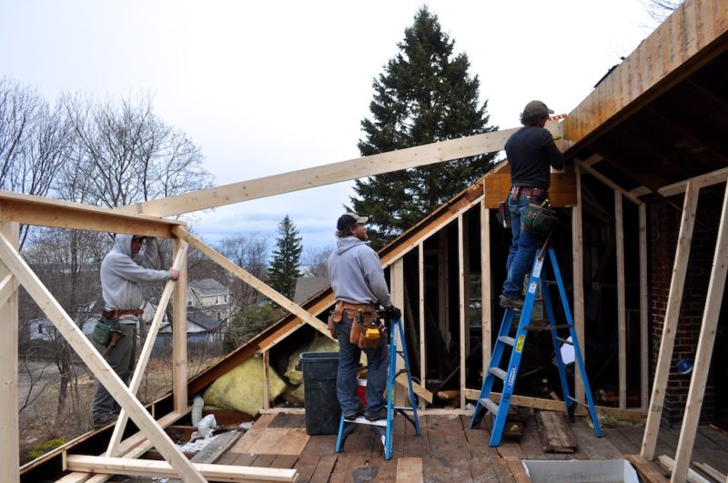 installing a second floor dormer