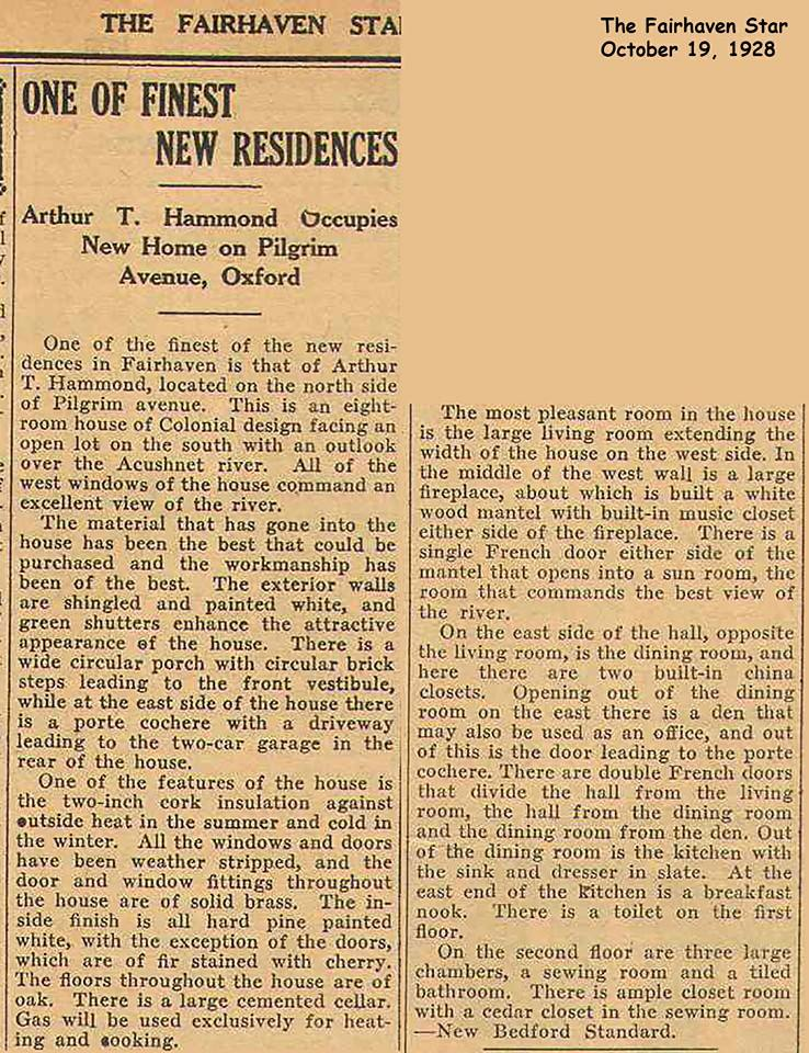 newspaper-article-about-arthur-t-hammond-house-1928