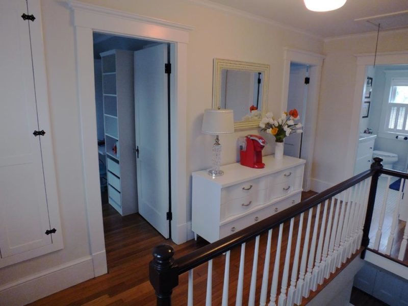 Upstairs landing after remodel