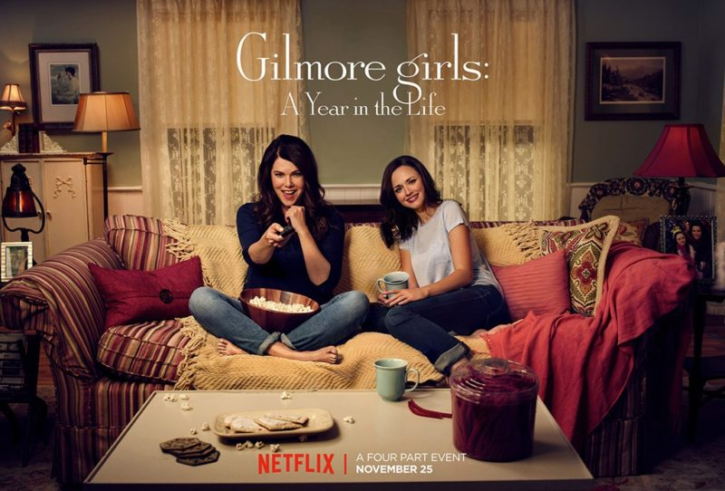 Official Netflix poster for Gilmore Girls A Year in the Life