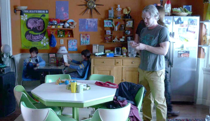 Inside the sets for Lane\'s house