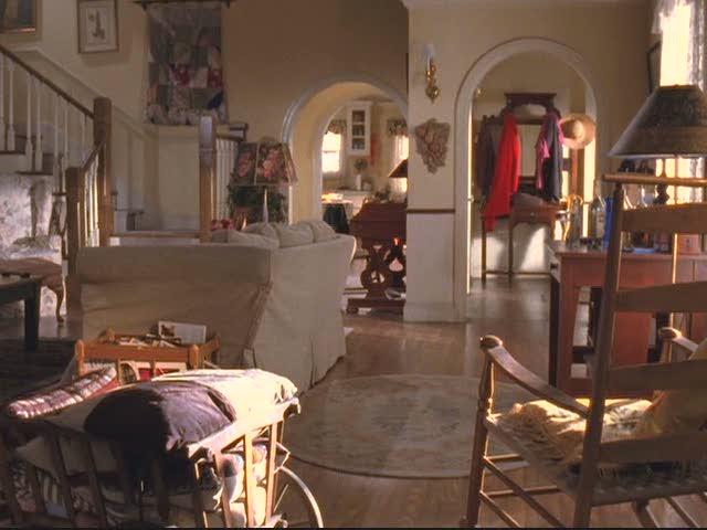 Lorelai's living room during original series