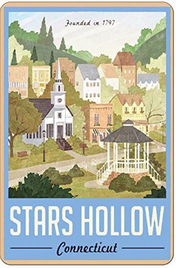 Stars Hollow Plaque