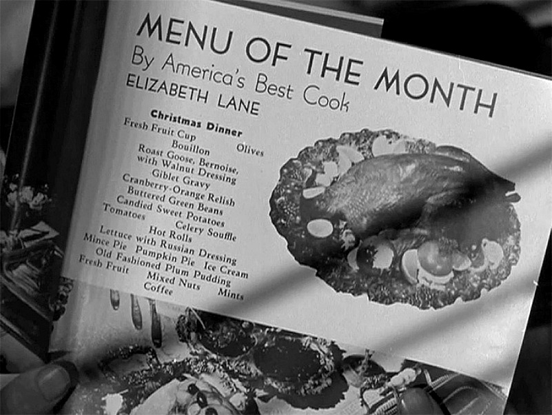Smart Housekeeping column by Elizabeth Lane with Menu of the Month