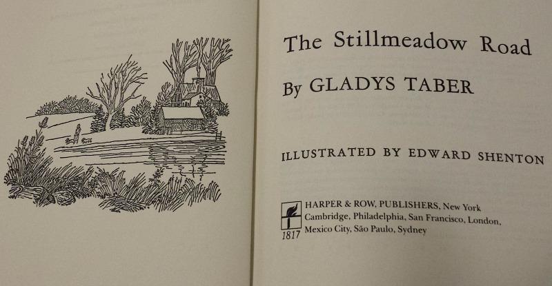 Stillmeadow Road book by Gladys Taber